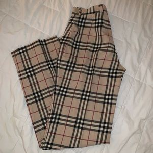 Burberry Wide Leg Pant